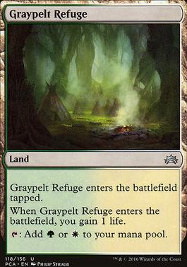 Planechase Anthology: Graypelt Refuge