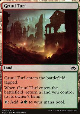 Planechase Anthology: Gruul Turf