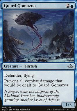 Planechase Anthology: Guard Gomazoa