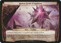 Planechase Anthology: Hedron Fields of Agadeem (Plane Oversized)