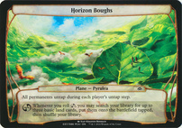 Planechase Anthology: Horizon Boughs (Plane Oversized)