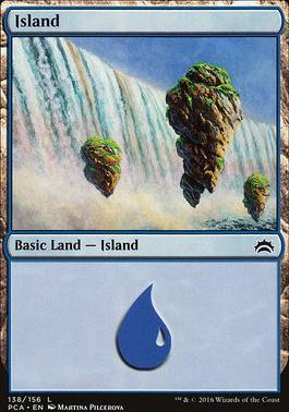 Planechase Anthology: Island (138 B)