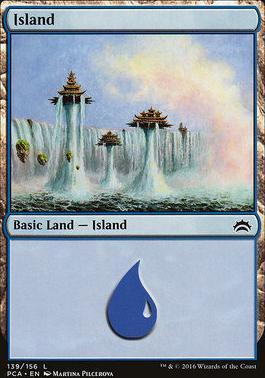 Planechase Anthology: Island (139 C)
