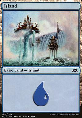 Planechase Anthology: Island (140 D)