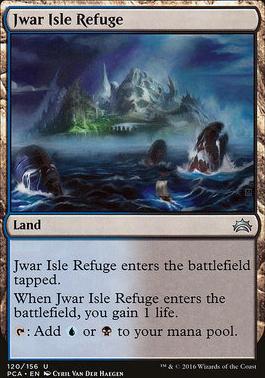 Planechase Anthology: Jwar Isle Refuge