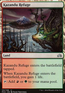 Planechase Anthology: Kazandu Refuge