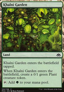 Planechase Anthology: Khalni Garden