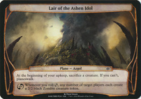 Planechase Anthology: Lair of the Ashen Idol (Plane Oversized)