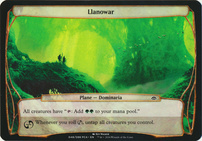 Planechase Anthology: Llanowar (Plane Oversized)