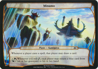 Planechase Anthology: Minamo (Plane Oversized)