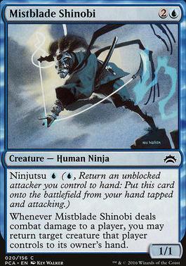 Planechase Anthology: Mistblade Shinobi