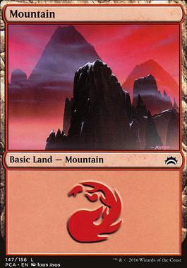 Planechase Anthology: Mountain (147 A)