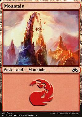 Planechase Anthology: Mountain (150 D)