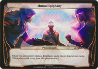 Planechase Anthology: Mutual Epiphany (Phenomenon Oversized)