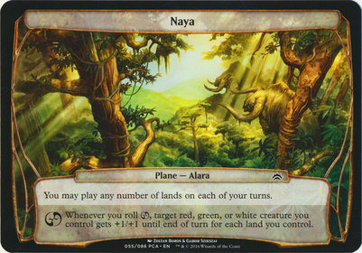 Planechase Anthology: Naya (Plane Oversized)