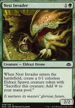 Planechase Anthology: Nest Invader