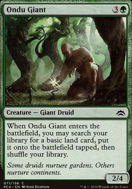 Planechase Anthology: Ondu Giant