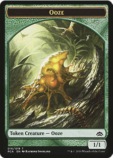 Planechase Anthology: Plant Token (Bader) - Ooze Token (Swanland)