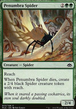Planechase Anthology: Penumbra Spider