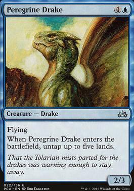 Planechase Anthology: Peregrine Drake