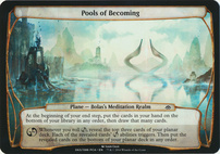 Planechase Anthology: Pools of Becoming (Plane Oversized)