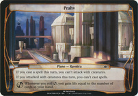 Planechase Anthology: Prahv (Plane Oversized)