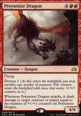 Planechase Anthology: Preyseizer Dragon