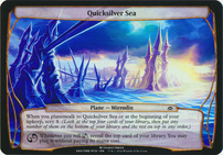 Planechase Anthology: Quicksilver Sea (Plane Oversized)