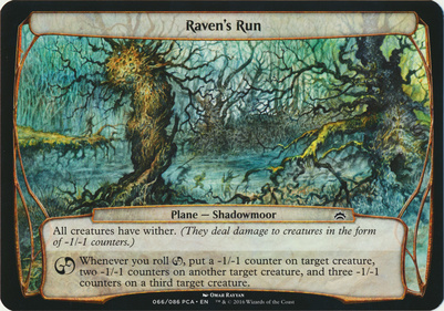 Planechase Anthology: Raven's Run (Plane Oversized)