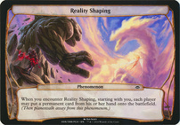 Planechase Anthology: Reality Shaping (Phenomenon Oversized)