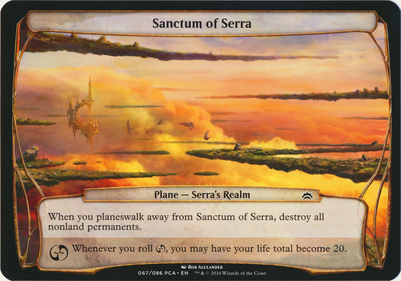 Planechase Anthology: Sanctum of Serra (Plane Oversized)