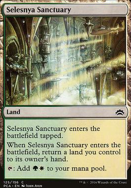 Planechase Anthology: Selesnya Sanctuary