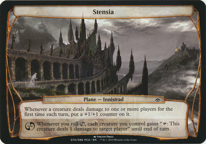 Planechase Anthology: Stensia (Plane Oversized)