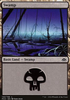 Planechase Anthology: Swamp (142 A)