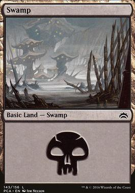 Planechase Anthology: Swamp (143 B)