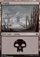 Planechase Anthology: Swamp (143 B)