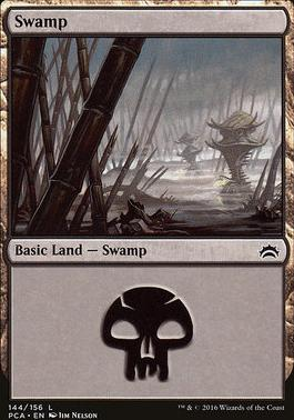 Planechase Anthology: Swamp (144 C)