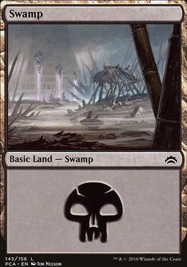 Planechase Anthology: Swamp (145 D)