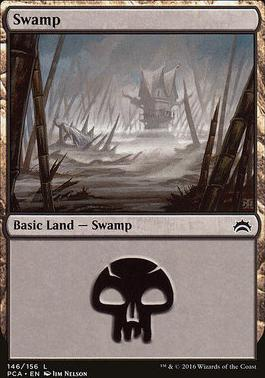 Planechase Anthology: Swamp (146 E)