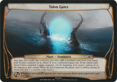 Planechase Anthology: Talon Gates (Plane Oversized)