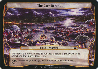 Planechase Anthology: The Dark Barony (Plane Oversized)