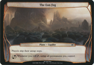 Planechase Anthology: The Eon Fog (Plane Oversized)