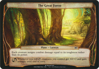 Planechase Anthology: The Great Forest (Plane Oversized)