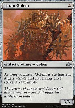 Planechase Anthology: Thran Golem