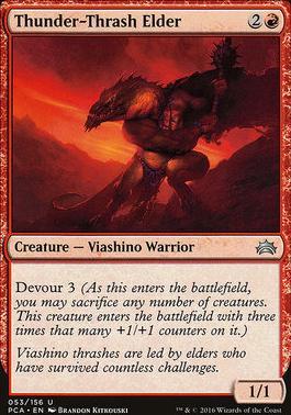 Planechase Anthology: Thunder-Thrash Elder