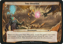 Planechase Anthology: Time Distortion (Phenomenon Oversized)