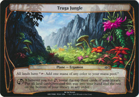 Planechase Anthology: Truga Jungle (Plane Oversized)
