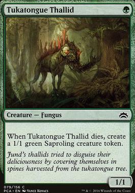Planechase Anthology: Tukatongue Thallid