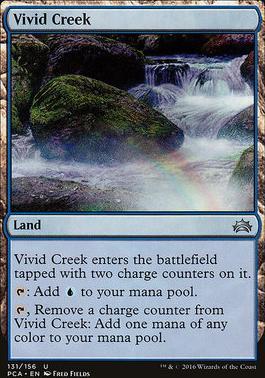 Planechase Anthology: Vivid Creek