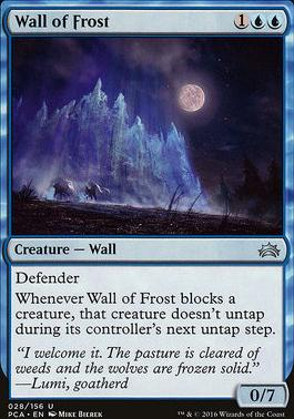 Planechase Anthology: Wall of Frost